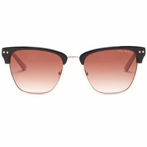 NEW Ted Baker London 52mm Clubmaster Sunglasses